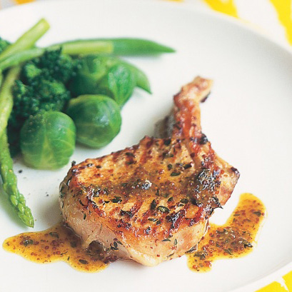 IHoney Mustard Pork Chops